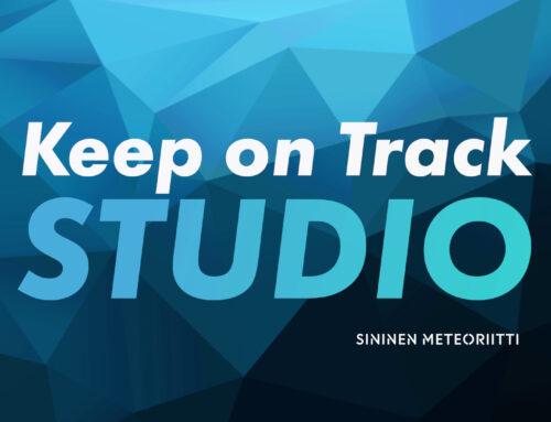 Sininen Meteoriitti – Keep on Track Studio -webinaarisarjan jakso teaser